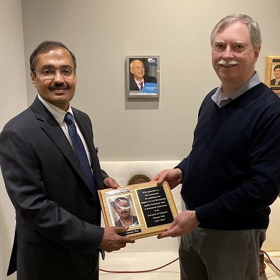 Dr. Rajesh Rajamani visits TSI as first holder of the Liu-TSI Applied Technology Chair in Mechanical Engineering
